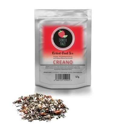 Sypaný čaj Jahodová Mäta 60g / 20 porcií
