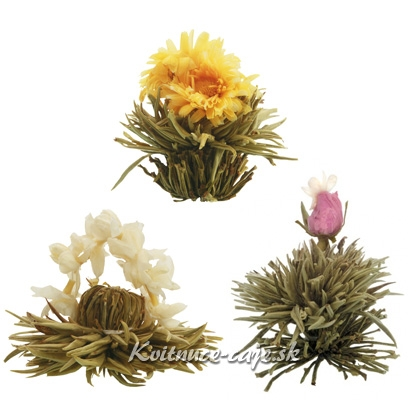 Biele kvitnúce čaje 3ks