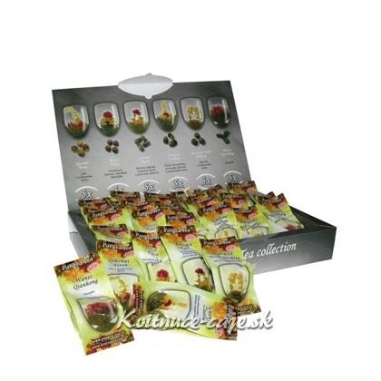 Zelené kvitnúce čaje 30ks