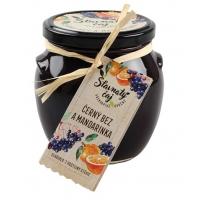 Pečený čaj - Baza čierna s mandarinkou 520ml