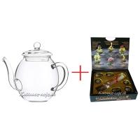 Čajová konvica + Darčeková kolekcia kvitnúcich čajov