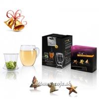 """Vianočné čaje """"Tea Beauties"""" + Pohár 3v1"""