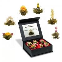 Elegantné darčekové balenie - biely čaj
