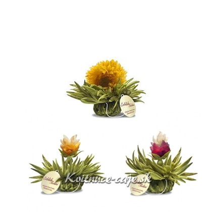 Kvitnúce čaje Tealini 8ks, EXTRA  ZĽAVA